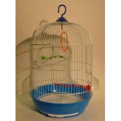 Jaula para Pájaros Redonda 33x53 cm