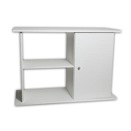 Mesa para acuarios de 600 litros blanca   animania®