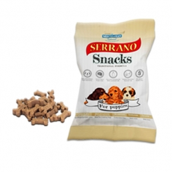 Serrano Snacks Puppies para Perros 100gr.
