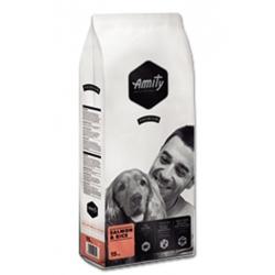 Pienso Perro Amity Premium Salmón y Arroz 15Kg.