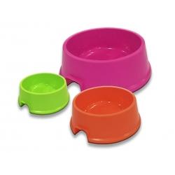 Comedero-Bebedero de Plástico para Perros Colores