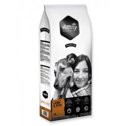 Pienso Perros Amity Premium Cordero y Arroz 15kg