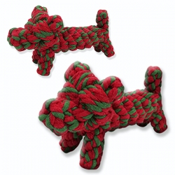 Juguete-Mordedor PERRITO Cuerda Perros
