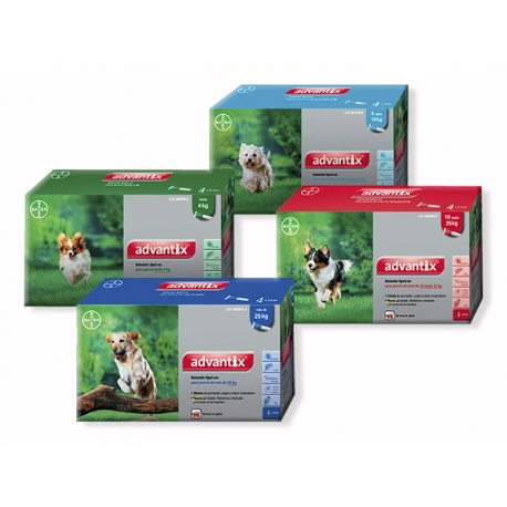 Pipetas ADVANTIX Antiparásitos para Perros