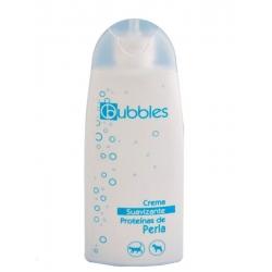 Crema Suavizante Bubbles con Proteinas de Pirla